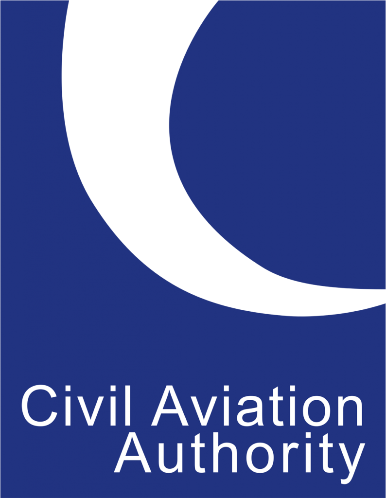 Logo for the UK Civil Aviation Authority