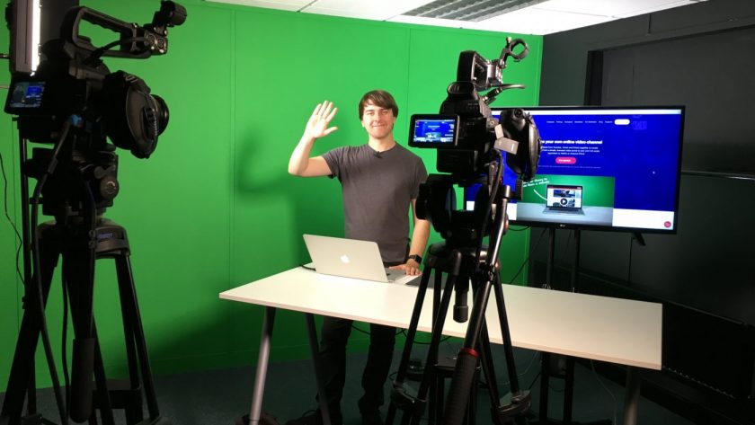 Green screen studio, Southampton