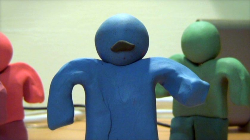 An example of stop motion animation