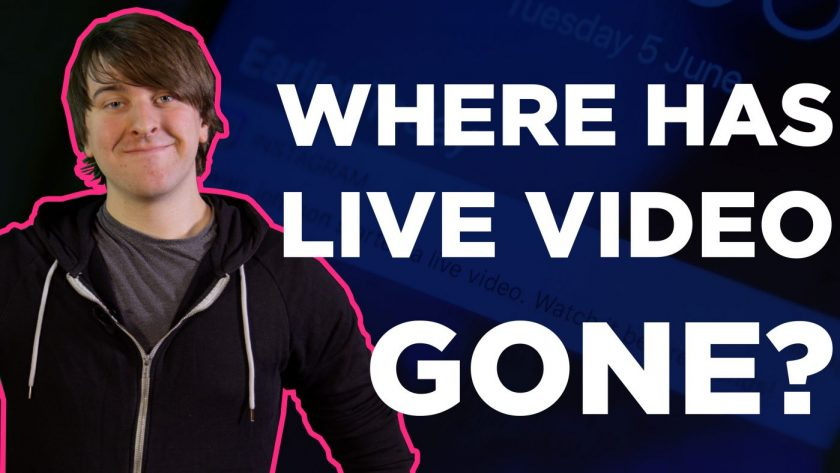 Where has live video gone?