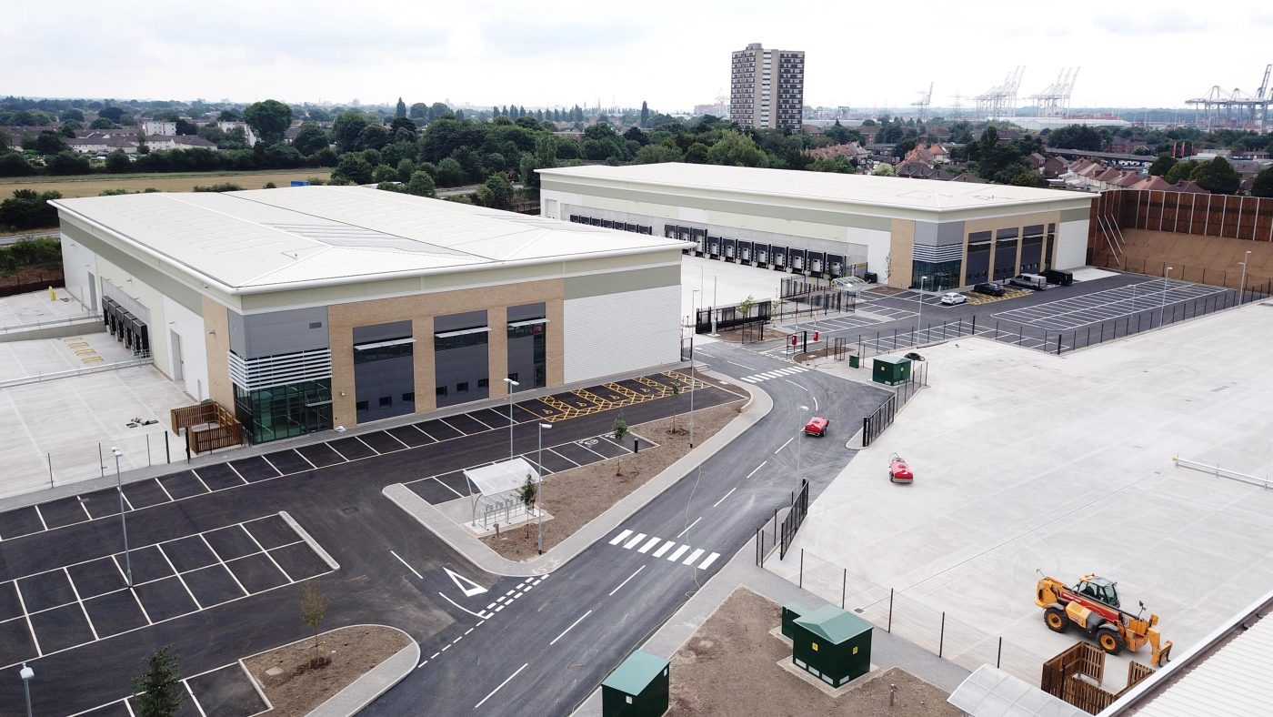 Readie Construction – Aerial Progress Updates For Major Construction Project
