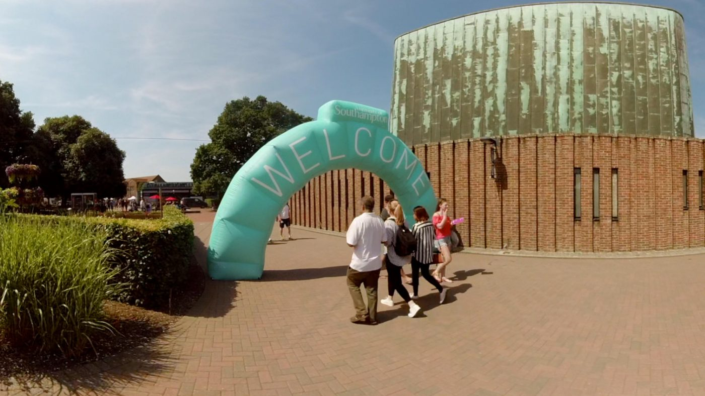 University of Southampton - 360° Virtual Open Day