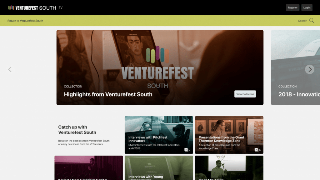 Venturefest South Vimsy Channel