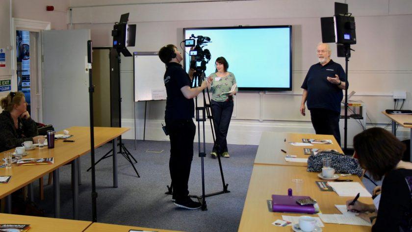 Southpoint Films hosting a workshop for WSX Enterprises