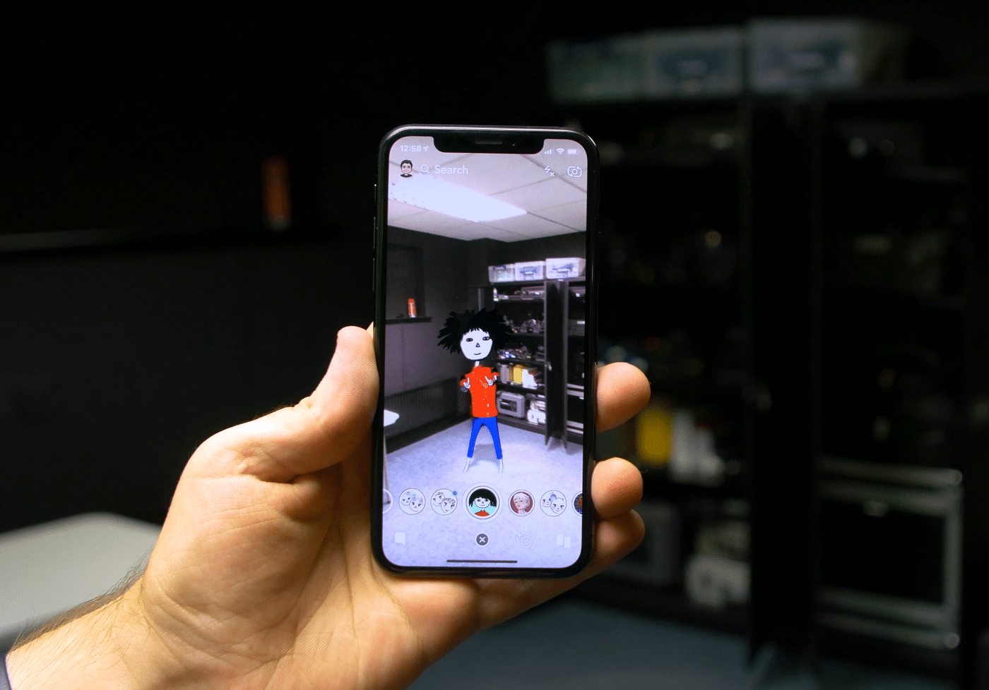 Augmented Reality AR using Snapchat