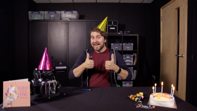 We're Five Years Old Today!