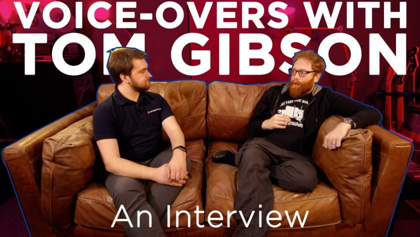Discussing Voice-Overs with Tom Gibson, Blackhill Studios