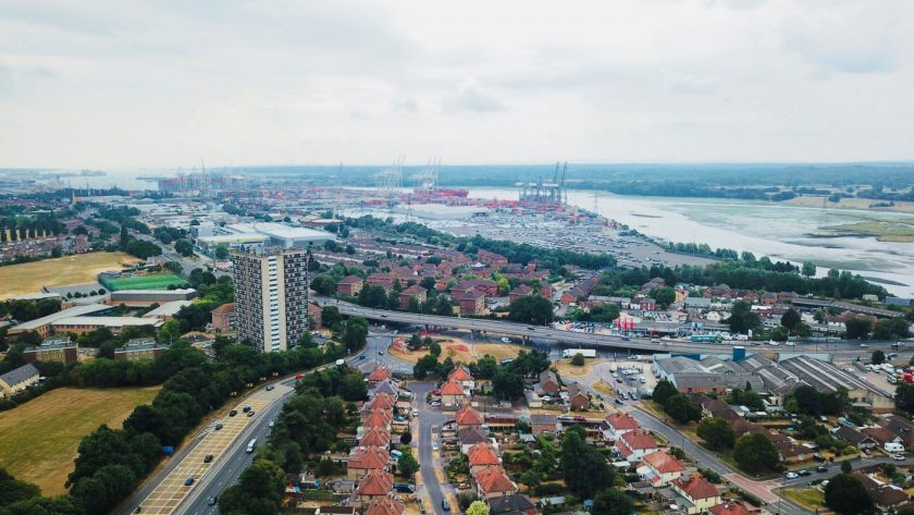 Southampton Aerial Image
