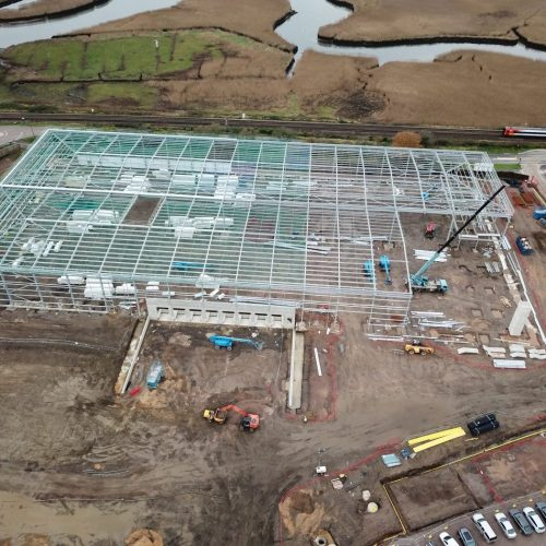 Aerial Time-Lapse for Readie Construction