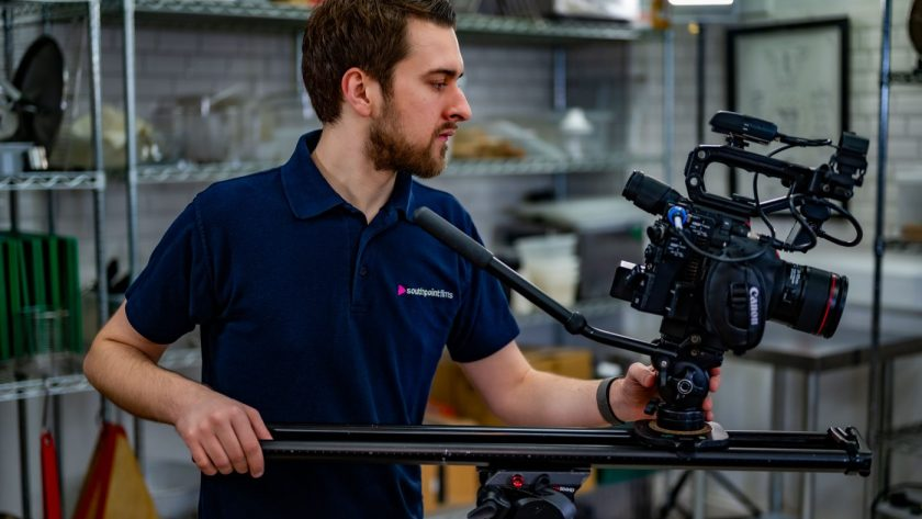 Filming with Eurotank Scraegg
