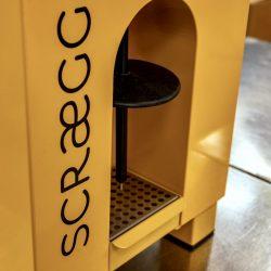 A close-up the Eurofood Screagg Pro Machine
