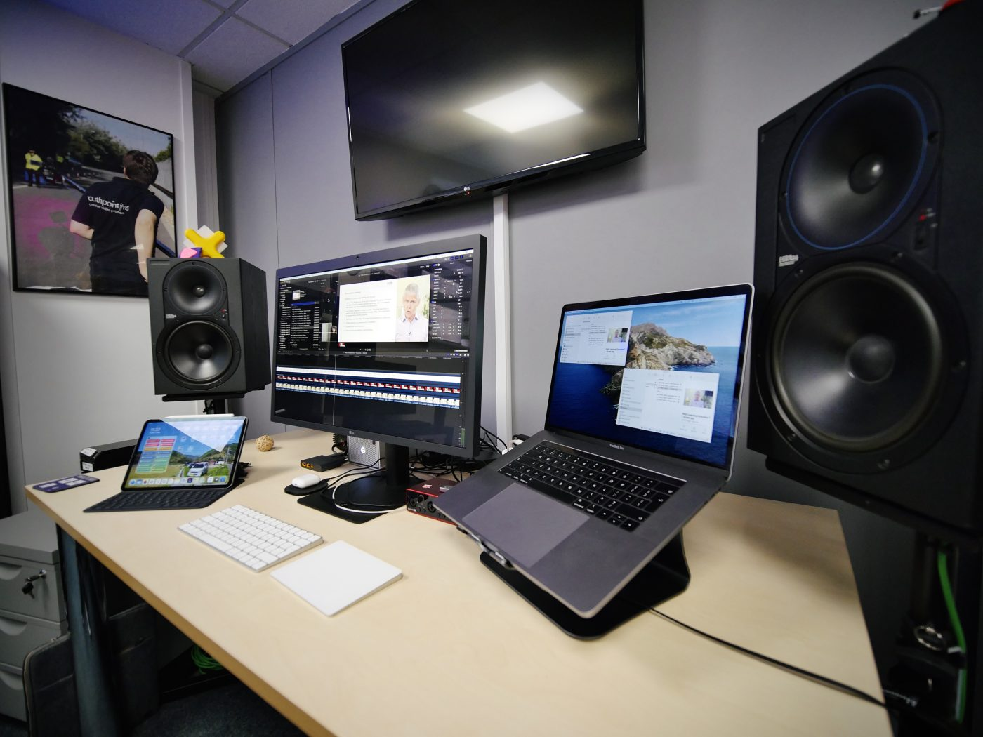 Our Edit Suite In Southampton, UK