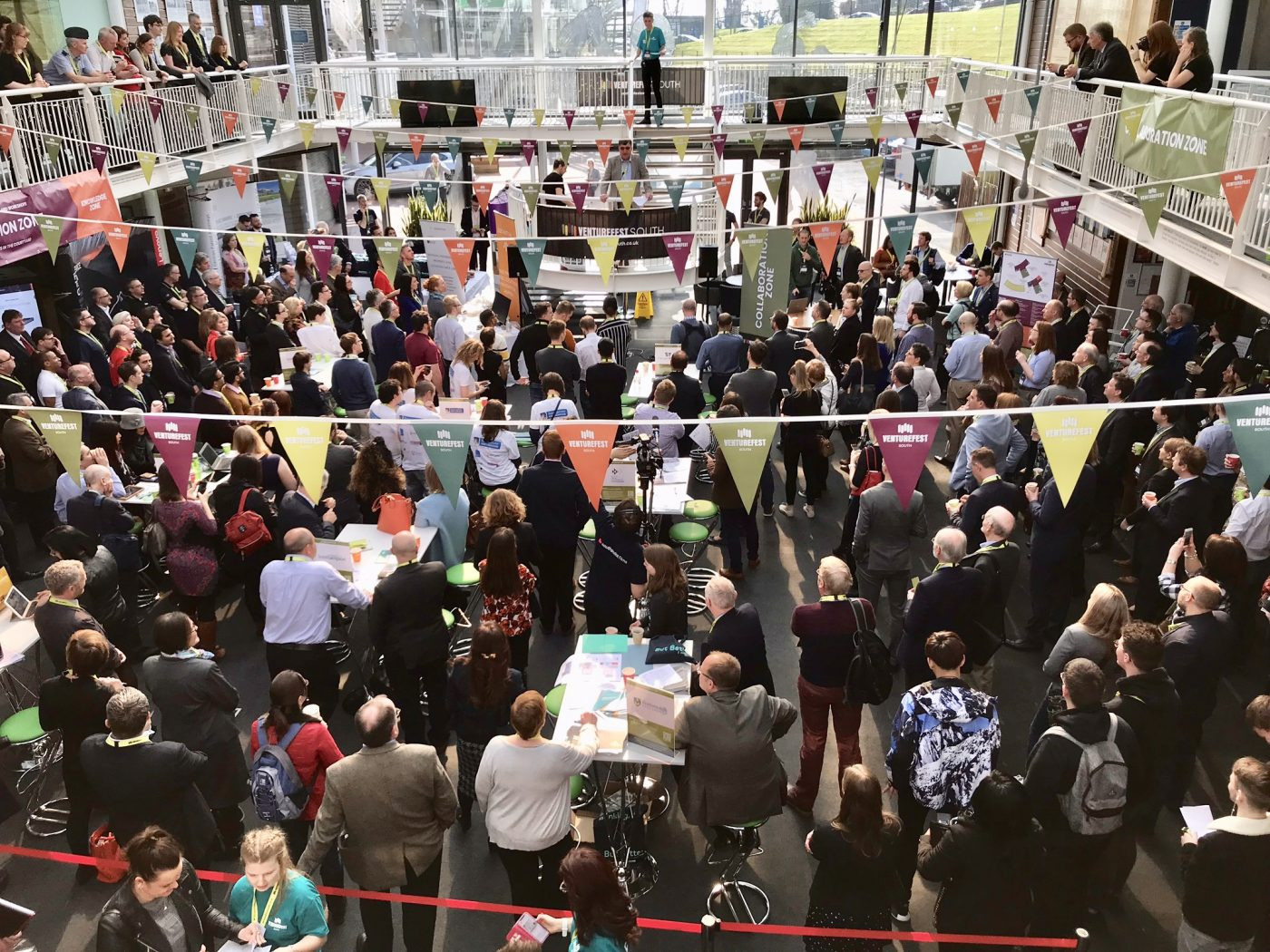 Venturefest South – A conference and networking event for innovative businesses in and around Southampton