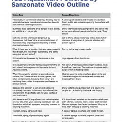ICE Aquasmart Powered by Sanzonate Video Outline v3