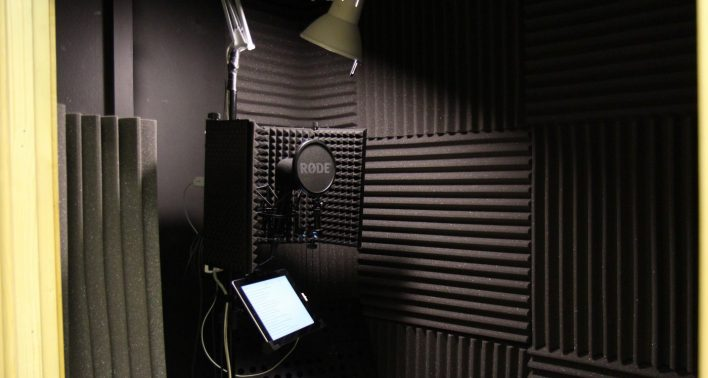 Visit our new Southampton Voice-Over Booth